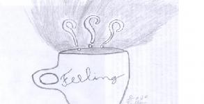 chá preto e saudades