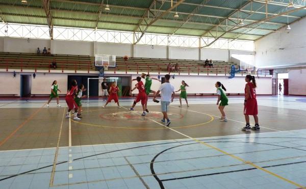 Juv. Fem. e Casa do Benfica de Palmela em Jogo de Treino